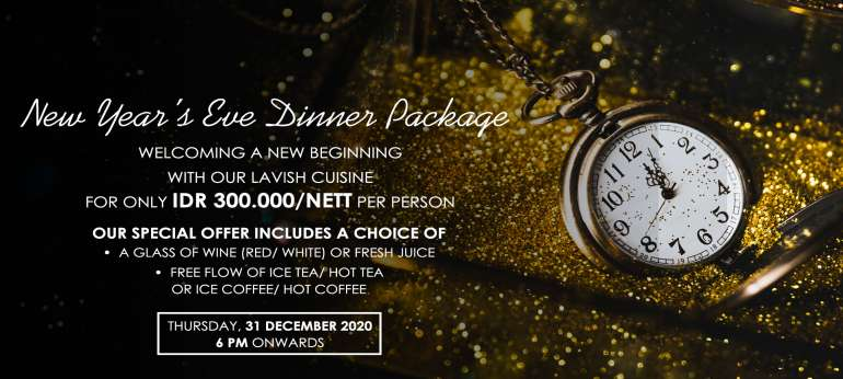 New Years Eve Dinner Package